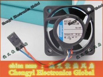 free shipping ebmpapst 412 J/2 12V 2.4W 40*40*25MM 4CM