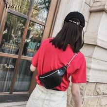 Women Outdoor Leisure Chest Bag Fashion Chain Leather Shoulder Bag Hight Quality Waist Bag Handbag Bolsa Feminina Banana Bag