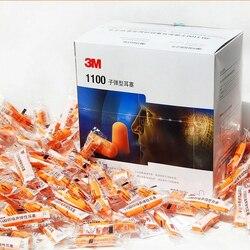 200pairs autentyczne 3M1100 pianki miękkiego silikonu przewodowe zatyczki do uszu redukcja szumów Norope zatyczki do uszu pływanie ochronne nauszniki|earmuff mp3|earmuffearmuffs kids -