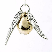 Harry Styles Gold Snitch Mens Chian สร้อยคอ Angel Wings Charm Golden Snitch Suspension จี้ Amulet(China)