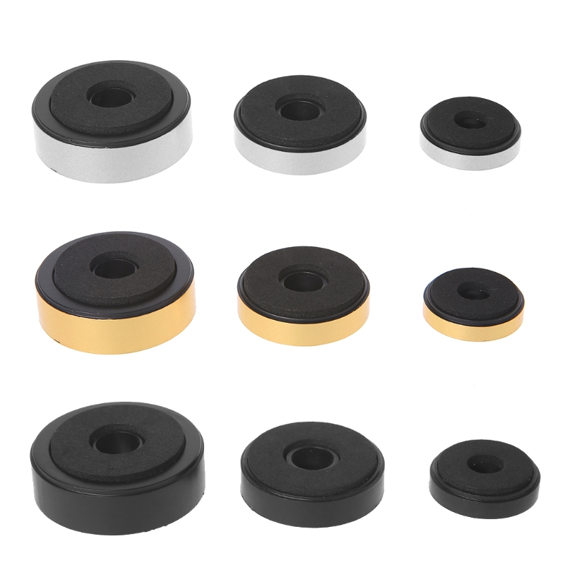 12Pcs Shock Absorption Damping For Audio Stereo Speakers Amplifier Feet Pad