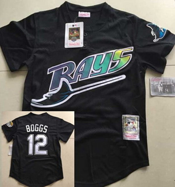 info for b5c1e f5229 wade boggs tampa bay rays jersey