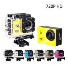 EastVita Waterproof Sport Action Camera 720P HD Cycling Mini Digital Video Camera Car Bike DVR Recorder with Monopod r20(China)