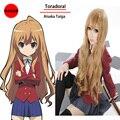 Мода Toradora тайга айсака косплей парики блондинки длинные вьющиеся волнистые лолита парики парик синтетические женщины парики косплей Perucas