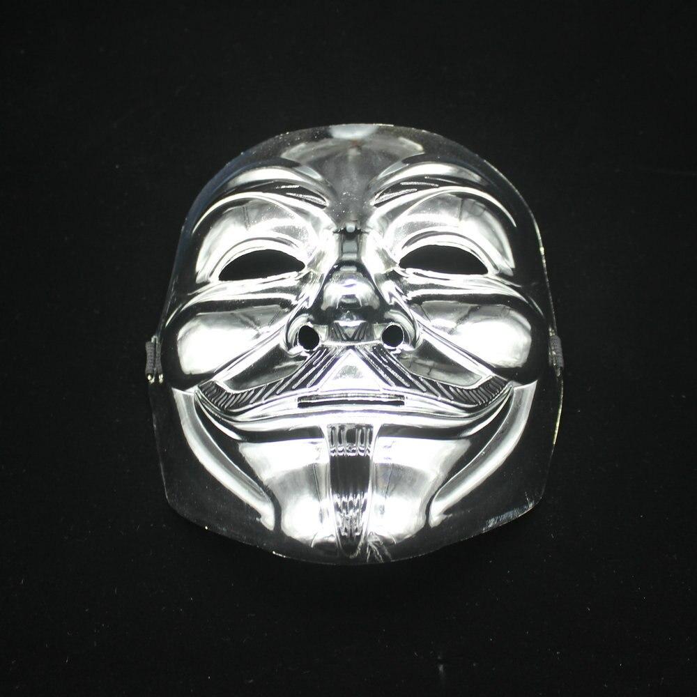 Online Shop 10 pcs Movie the me V for Vendetta mask Halloween full ...