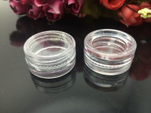 Mini Refillable Bottles Cosmetic Empty Jar Acrylic Pot Eyeshadow Acrylic Makeup Bottle Jar Face Cream Box Container Storage(China)