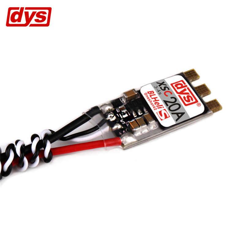 Original DYS XSC 20A 3-4 S CES BLHeli_S apoya Oneshot125 Oneshot42 Multishot de KV motores RC de Multicopter marco de parte