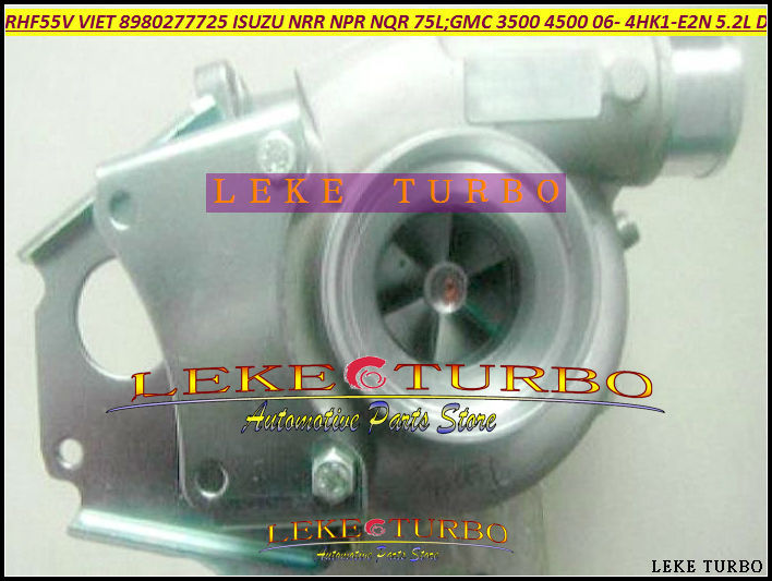 Free Ship RHF55V 8980277721 8980277722 8980277720 Turbo Turbocharger For ISUZU NRR NPR For GMC 3500 4500 W-Series 4HK1-E2N 5.2L
