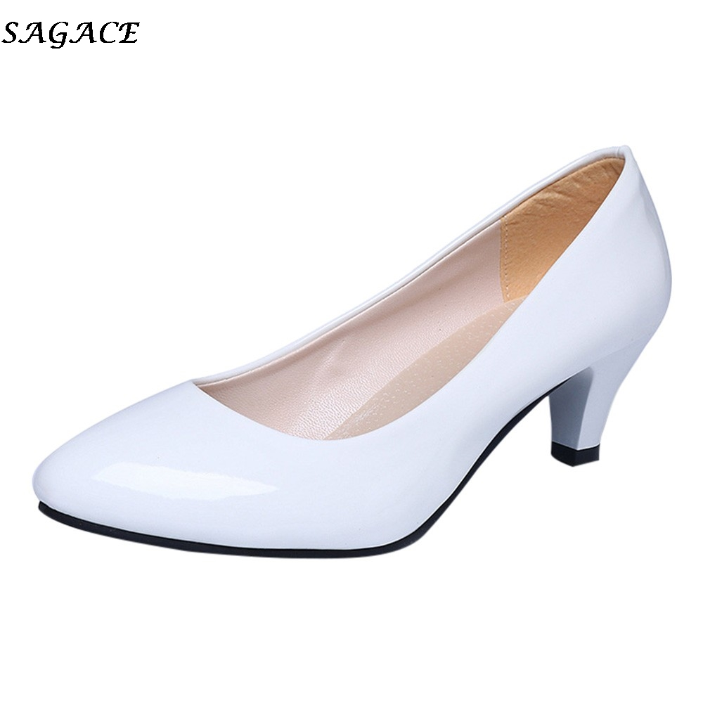 5725d43edb3 Big Discount] 2019 Fashion hallow Mouth Sexy Fashion Women Shoes ...