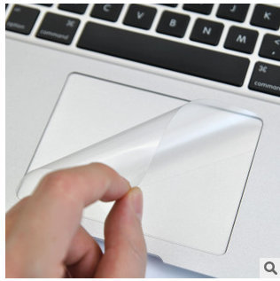 how to clean the trackpad