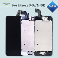 Mobymax AAA Full Assembly For IPhone 5 5S 5C SE LCD Display Ecran Pantalla Touch Glass