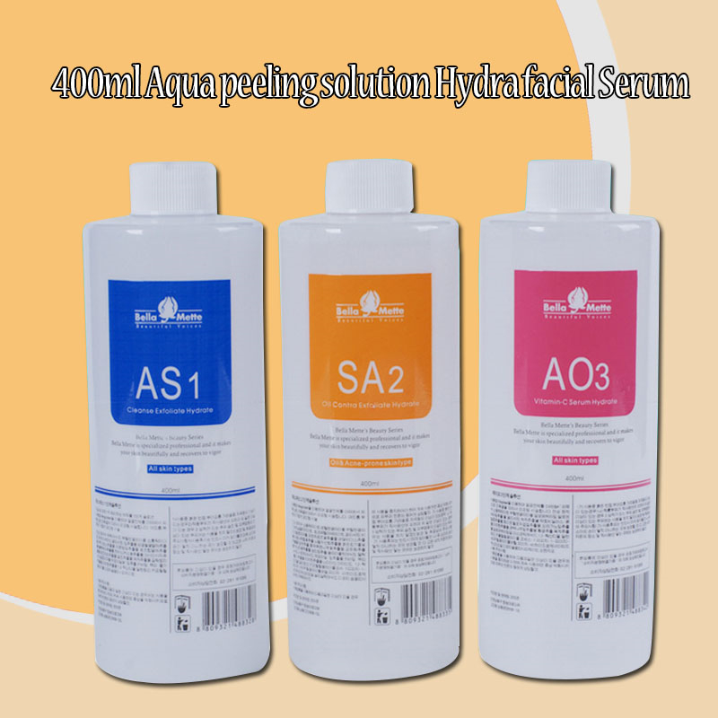 Professional Aqua Clean Solution/Aqua Peel Concentrated Solution Aqua Facial Serum Hydra Facial Serum Hydra Facial Machine Use