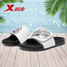 881219359589 Xtep men's slippers 2019 summer new lightweight comfortable casual shoes breathable non-slip beach shoes