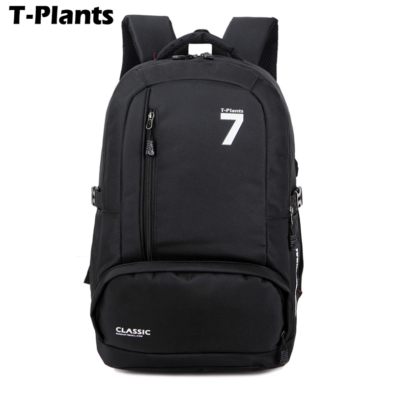 b5c0ec6cda Online Shop T-Plants Fashion Men Women Backpacks School bags Nylon Travel  Bags mochila feminina Simple Notebook Laptop Bag Backpack for Men