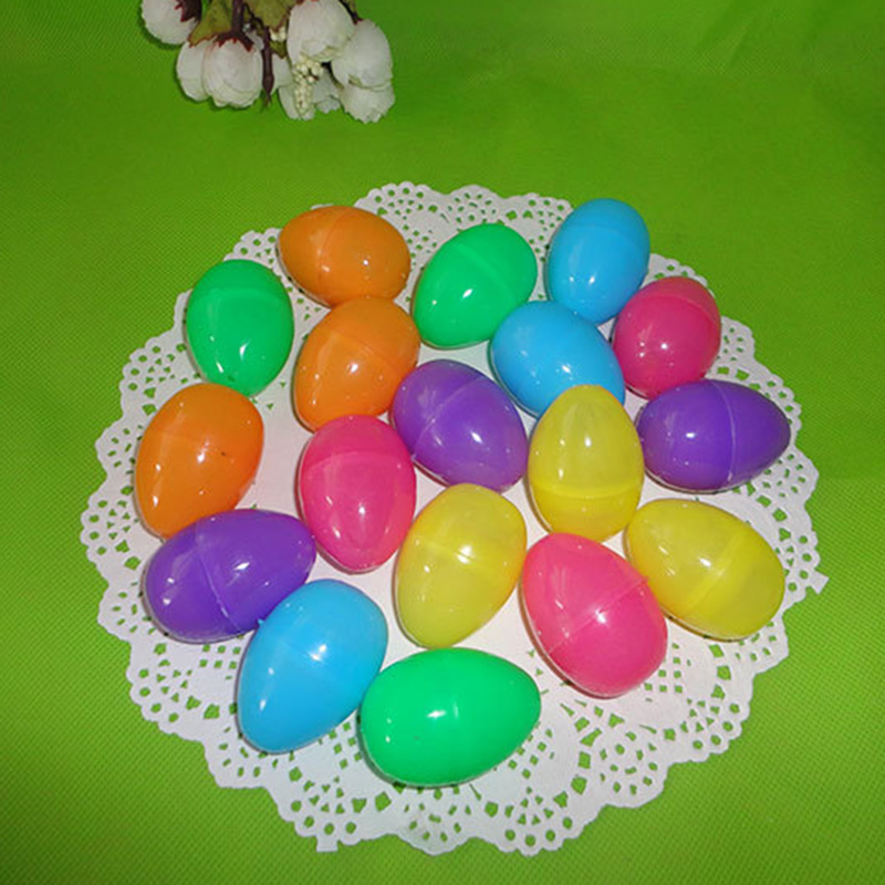 Hot Selling Surprise Easter Eggs Assorted Colour Children Toy Craft Model Fillable Gifts Chocolate