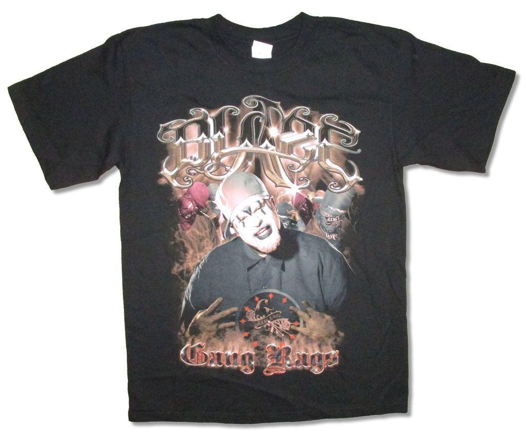 Blaze Ya умер Гомерчик Gang тряпки черная футболка новый официальный Hatchetman Icp Twiztid