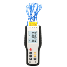 цена на KIC-304 four-channel digital contact thermocouple thermometer electronic thermometer Type-K Thermocouple Temperature Tester