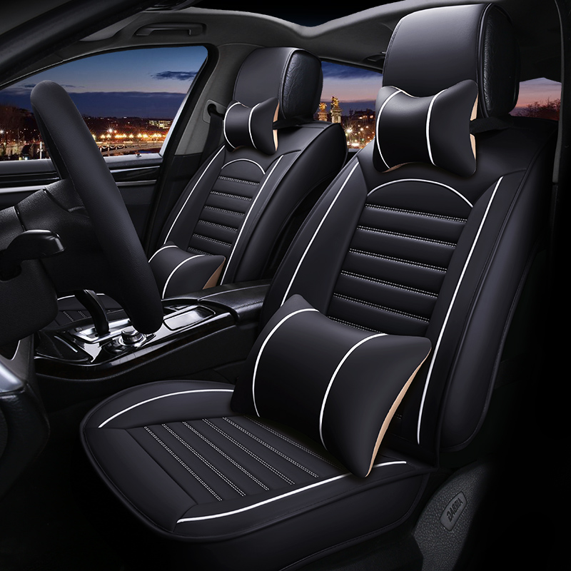 """אביזרי רכב מושב המכונית עור אוניברסלי כיסוי עבור מ""""ג ZS MG7 MG3 MG5 MG6 כל אביזרי רכב דגמים (3)"""