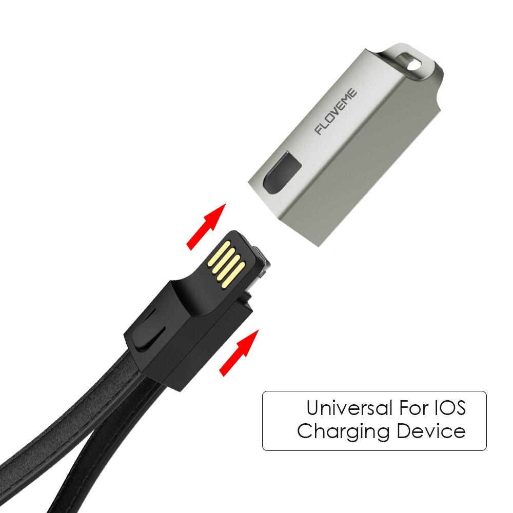 FLOVEME καλώδια USB για το iPhone καλώδιο IOS 10 - Ανταλλακτικά και αξεσουάρ κινητών τηλεφώνων - Φωτογραφία 2