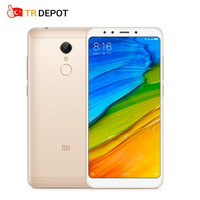 Original Xiaomi Redmi 5 3GB RAM 32GB ROM 5.7 18:9 Full Screen Snapdragon 450 Fingerprint ID Redmi5 MIUI 9 3300mAh Smartphone