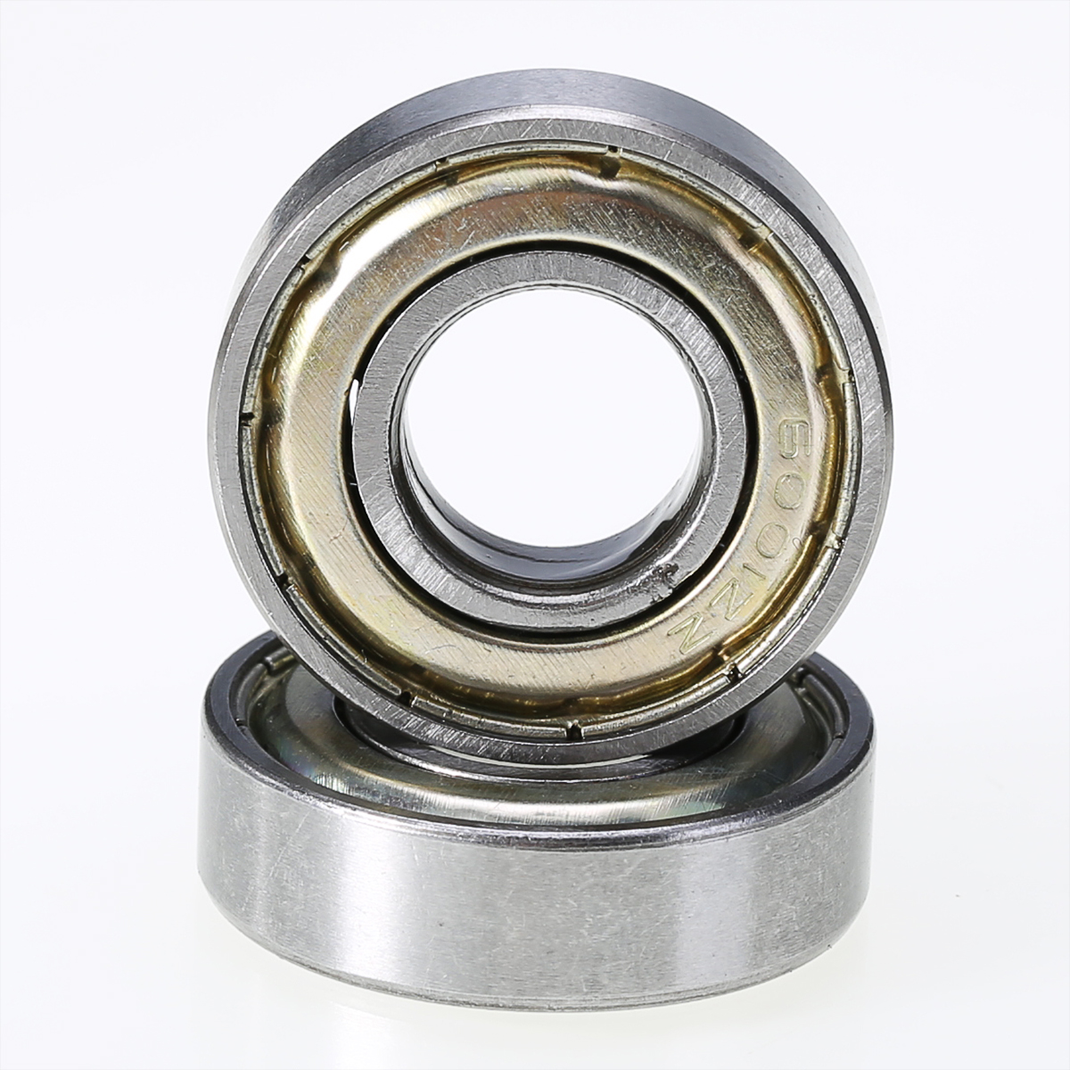 5Pcs/Set Deep Groove Ball Bearings 6001ZZ Shielded Radial Ball Bearing 12mm x 28mm x 8mm for Agricultural Conveying