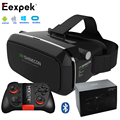 HOT! New Shinecon VR Google Cardboard VR BOX with Headphone VR Virtual Reality 3D Glasses For 4 - 6.0 inch Smartphone + Mocute 0