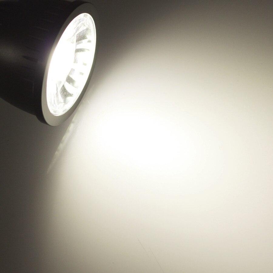 Купить с кэшбэком Wholesale COB GU10 5W 7W 8W Led Bulbs Light COB Warm/Cool White E27 GU10 Led Lights 85-265V + CE ROHS