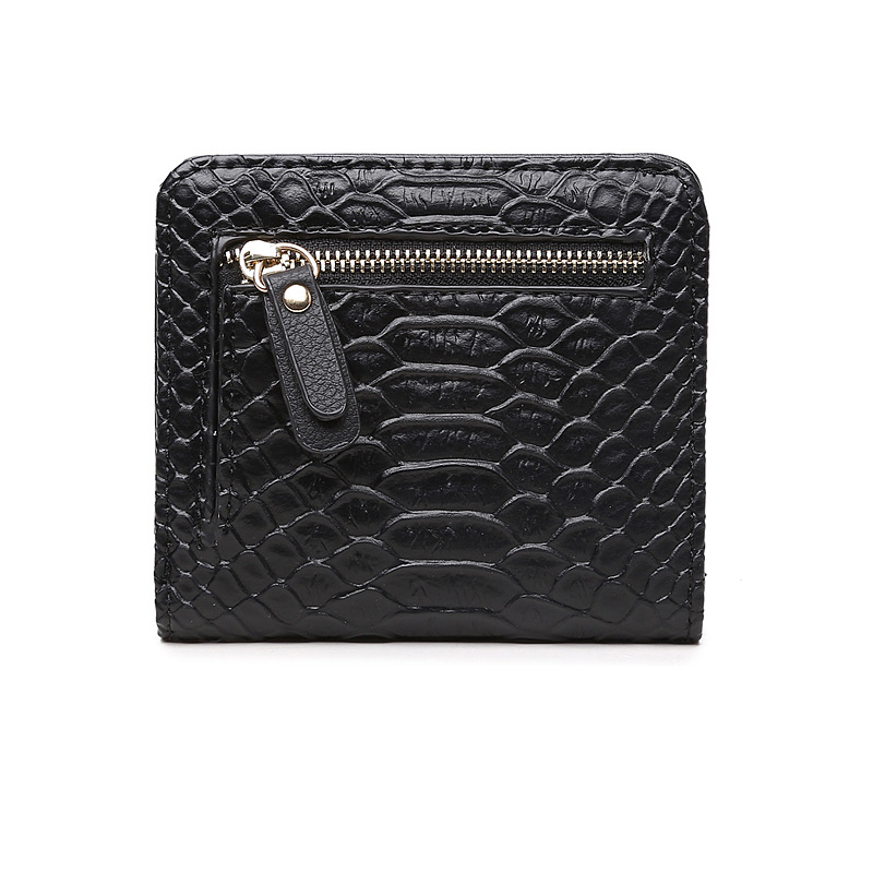 Alligator Women Small Wallets Pu Leather Purse Card Holder Female Perse for Money and Coins Zipper