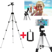 Universal  Phone Holder+Professional Camera Stand Mount Tripod For iPhone 7 PLUS Pro 6 6S 5 5S SE 5C/For Xiaomi Red Note Mi5