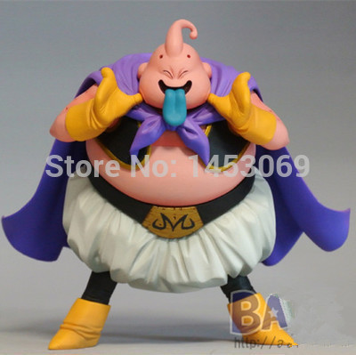 Anime Cartoon Dragon Ball DXF Majin Buu PVC Action Figure Collection Model Toy 13.5cm anime one piece dracula mihawk model garage kit pvc action figure classic collection toy doll