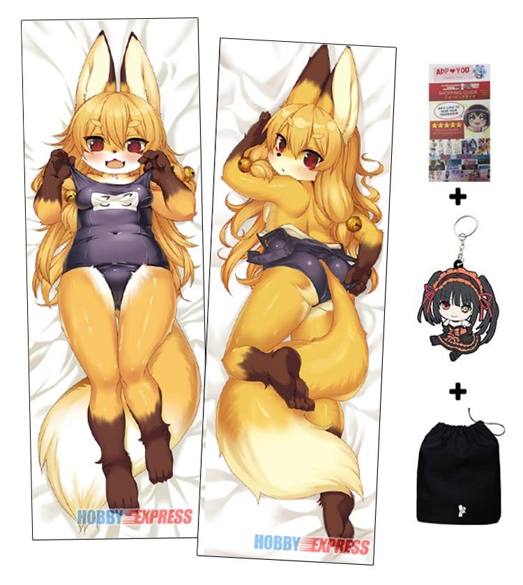 Hobby Express Furry Anime Dakimakura Japanese Hugging Body Pillow ADP65090