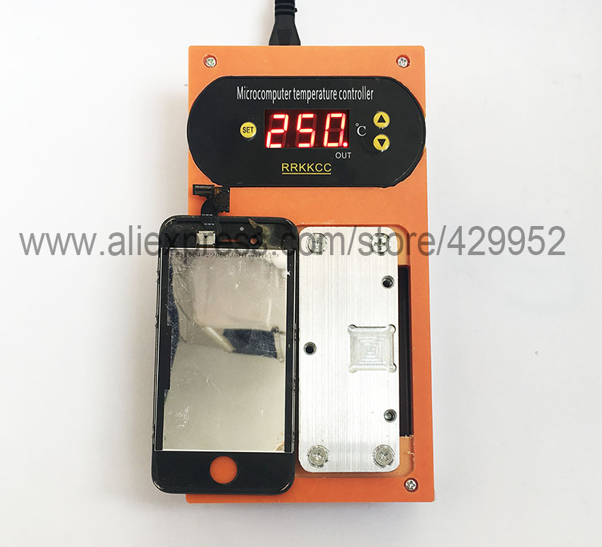 LCD Frame Bezel Removing Repair Machine Separator For iPhone Mid housing Assembly IC Chip BGA Repair Tools 3 in 1 for sumsung bezel middle frame separator vacuum glass panel lcd screen separator preheater