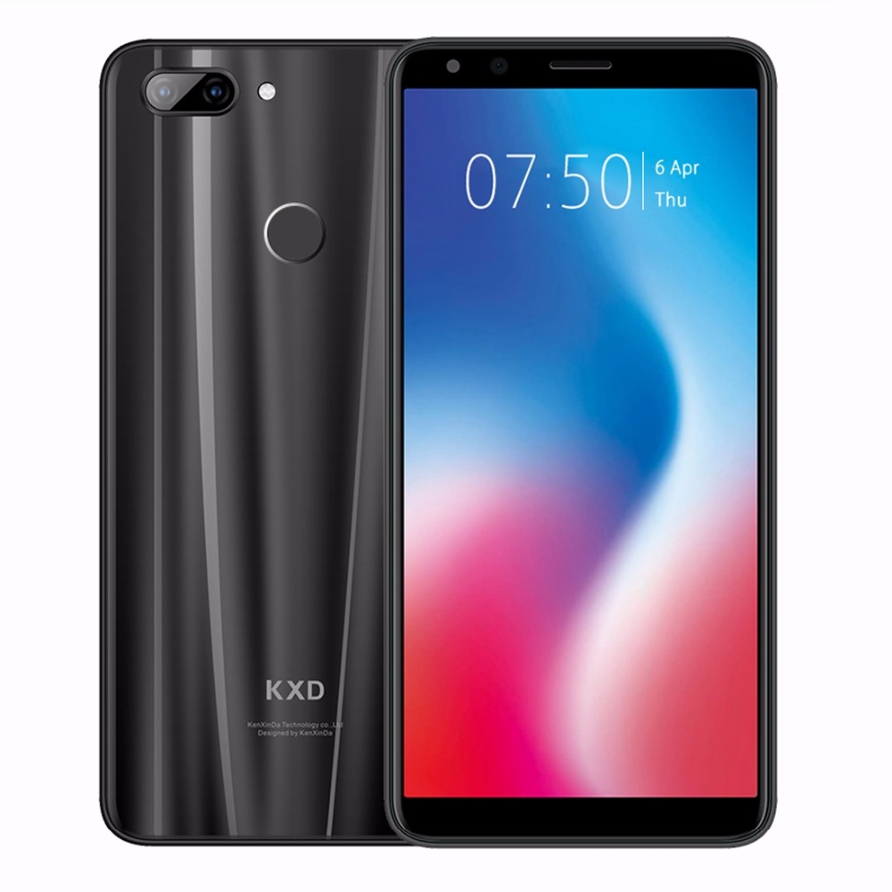 Ken Xin Da KXD K30 Android 8.1 Mobile Phone 5.7 HD MTK6750 Octa Core 3GB RAM 32GB ROM Smartphone 13MP+5MP Back 4G LTE Unlock