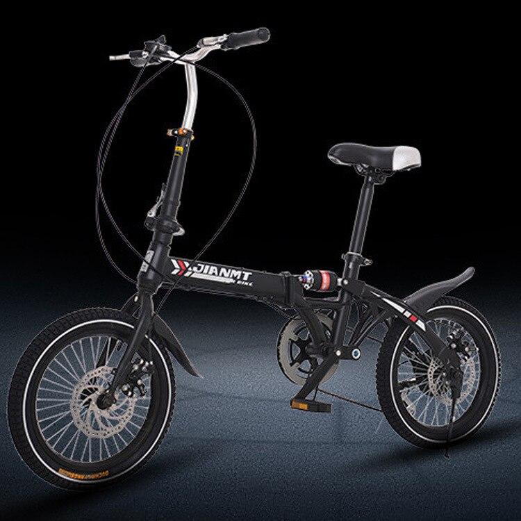 2019 nouveau pliant frein à disque À vitesse Variable vélo 14icn 16 pouces disponibles