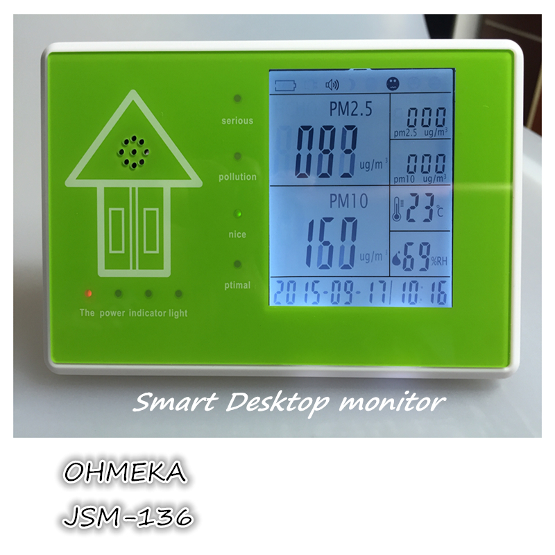 free shipping Good quality Indoor Air Quality Tester voc Temperature Humidity Monitor digital indoor air quality carbon dioxide meter temperature rh humidity twa stel display 99 points made in taiwan co2 monitor