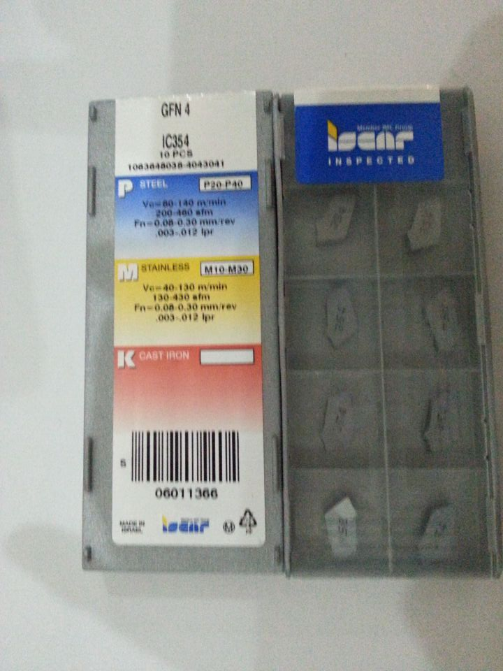 LOC922 SEMT 1204AFTN-76 IC328 Iscar Carbide Insert SEMT 43AFTN-76