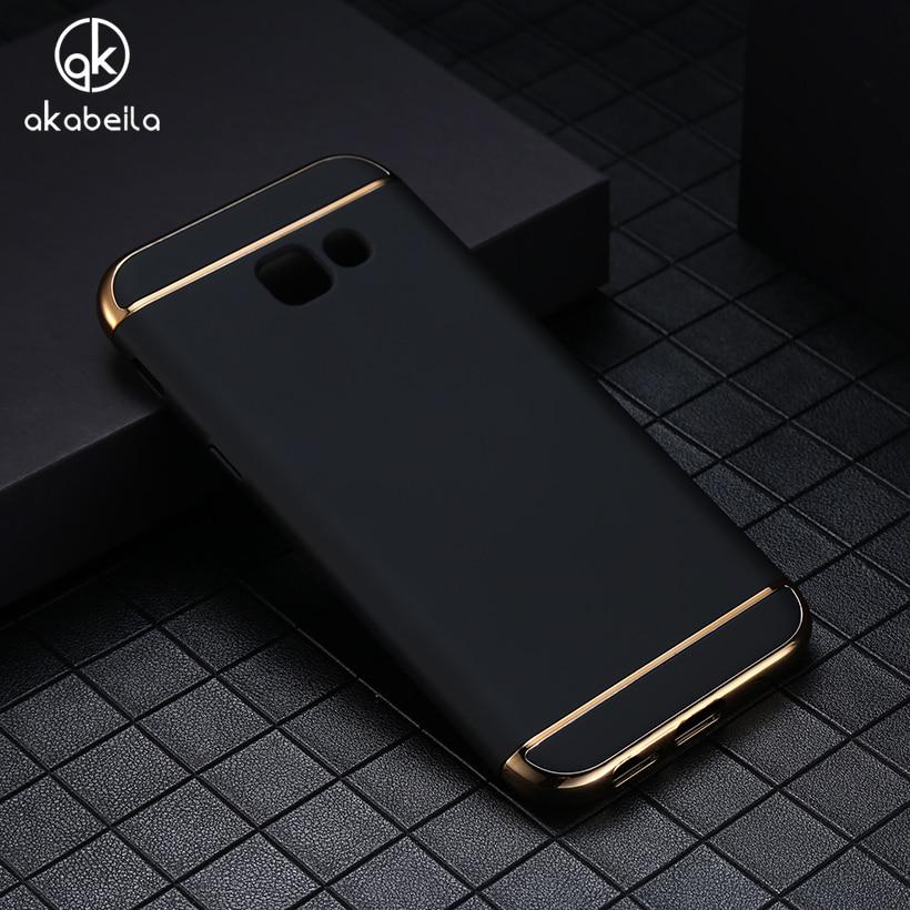 Galleria fotografica AKABEILA Case Covers For Samsung Galaxy J3 Prime Case Fashion 3in1 Hard PC Ultra Slim Cover For Samsung Galaxy Amp Prime 2 Phone