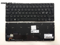 ND Nordic keyboard For DELL XPS 12 13 XPS 13D 13R L321X L322X 0MH2X1 L221 L321 L322 Blacklit keyboard ND Layout