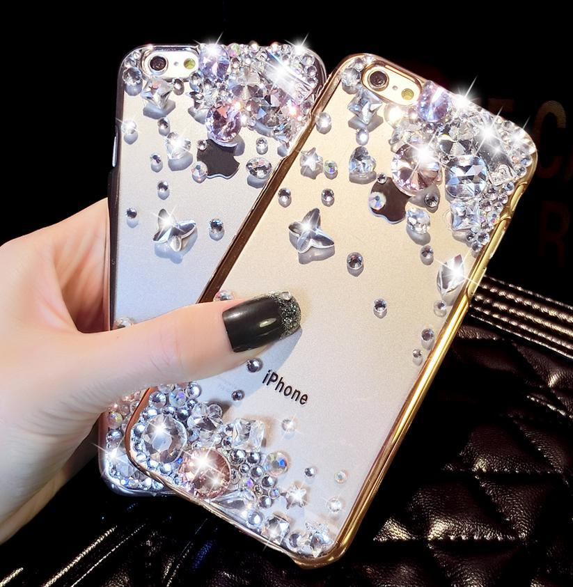 ... uk availability a43e2 1b8f8 Rhinestone Case Cover For Iphone 5 5s Iphone  6 6Plus New Arrival ... a33a799fe