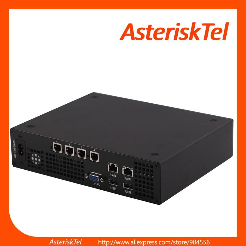 bilder für IP PBX mit 4 FXO ports basierend auf Elastix, Business ip-telefon System Soho VoIP Lösung miniucs switchvox, asterisk PBX VoIP