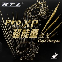 KTL Pro XP Gold Dragon Pips In Table Tennis PingPong Rubber With Sponge