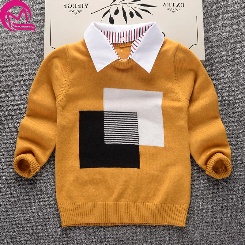 2017 New Spring Autumn Kids Cotton Causual Long Sleeve Hooded Sweaters For Boys Girls Baby Fall Sweater Knit Clothing Cardigan