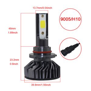 Image 5 - 1500W 225000LM Car LED Headlight Kit H8 H9 H11 H7 H4/9003/HB2 H1 9006 9005/H10 6000K Bright DOB LED Headlight Bulbs Kit Lamp FZH