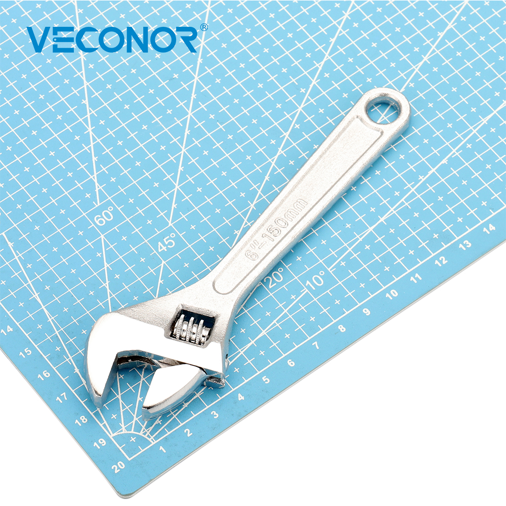 """VECONOR 6 """"-es 150 mm-es állítható csavarkulcs univerzális többfunkciós kulcsos házkulcs háztartási javító kéziszerszámok autós motorkerékpárhoz"""