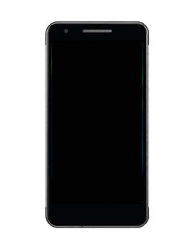 5.0 นิ้วสำหรับ Philips Xenium X588 จอแสดงผล LCD + Digitizer หน้าจอสัมผัสคุณภาพสูงสีดำสีเครื่องมือเทป