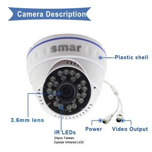 Image 3 - Smar 720P 1080P System monitoringu wizyjnego 4CH H.264 CCTV wideorejestrator HDMI zestaw bezpieczeństwa kryty bezpieczeństwo w domu kamera dzień i noc wykryj