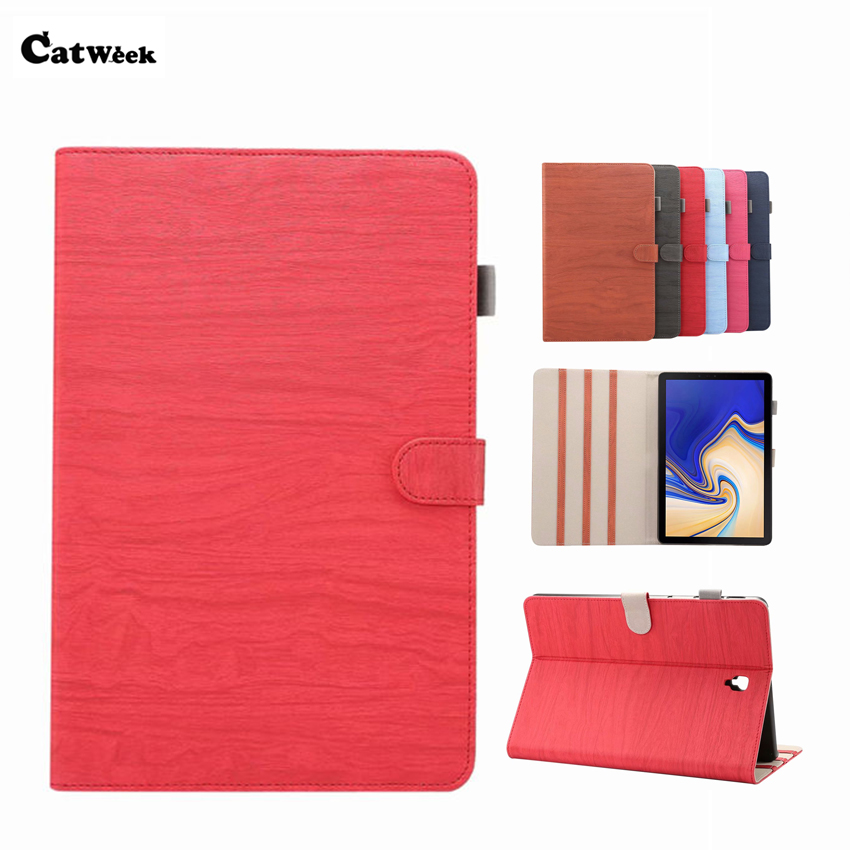 SM T830 T835 PU Leather Case Cover 10.5'' Ultra Slim Protective Stand For Samsung Galaxy Tab S4 T830 T837 Tablet PC Smart Fundas