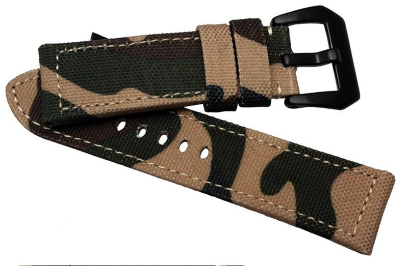 Montre accessoires toile/nylon strap utiliser avec pour Panerai pam111 312 24mm