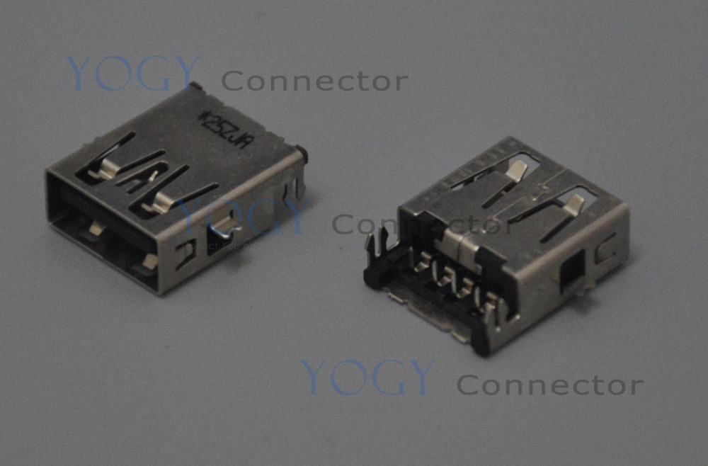 10pcs 16mm USB Jack Jack fit for Samsung XE550C22 Series and other laptop motherboard female usb connector port