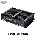 2 com intel core i5 4200u industrial fanless windows 10 mini pc com 300 m wi-fi